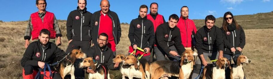 Arén, referente europeo en pruebas de trabajo con perros de rastro