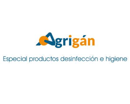 Productos de desinfección e higiene de Agrigán