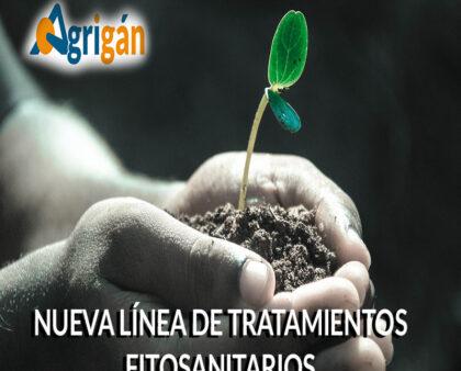 Nueva línea de tratamientos fitosanitarios de Agrigán