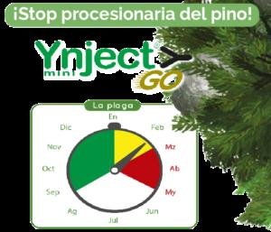 Stop procesionaria del pino